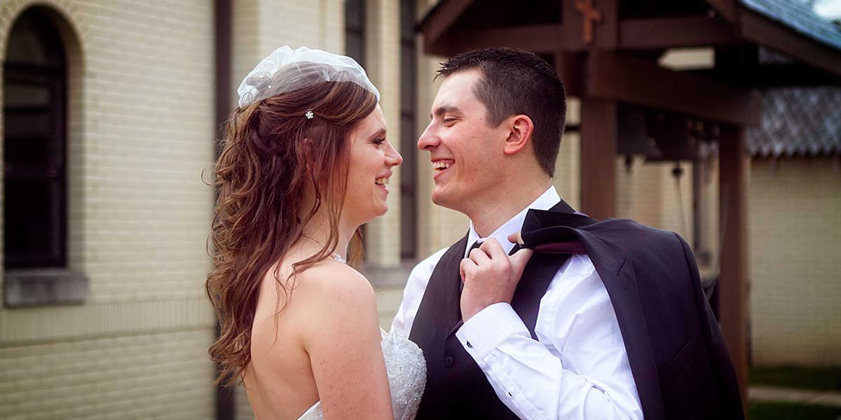 Nadia and Dumitru: Just Married!