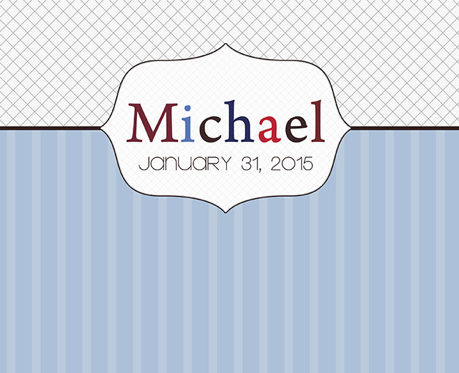 Michael is welcomed into the Christian world