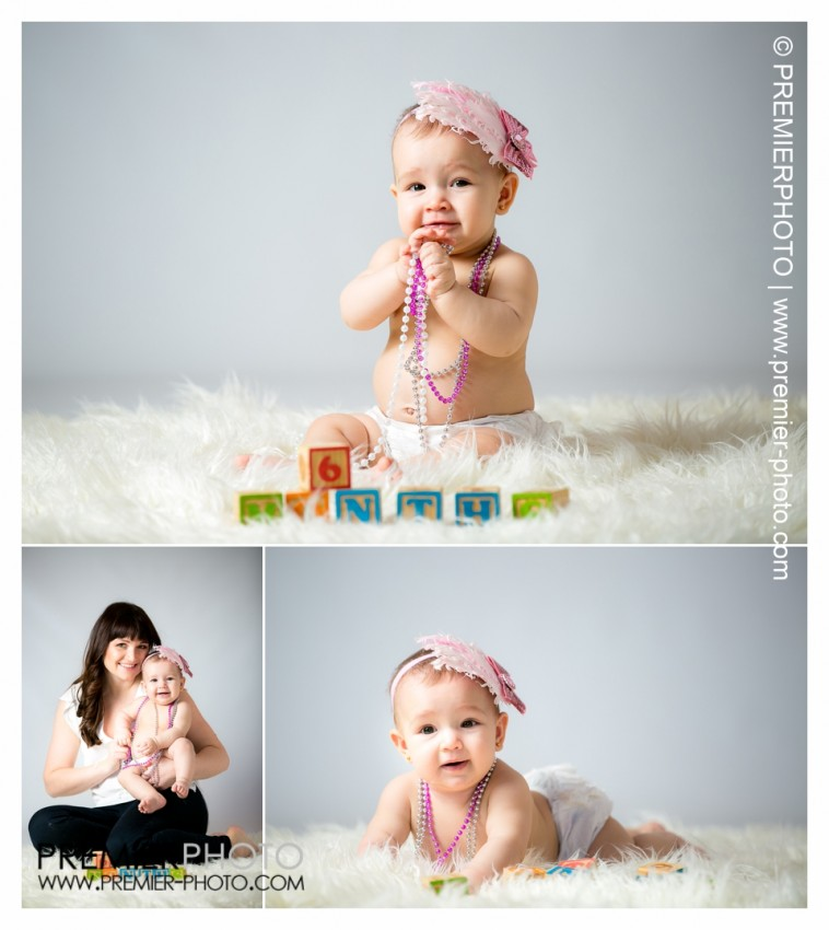 6 months old baby photography