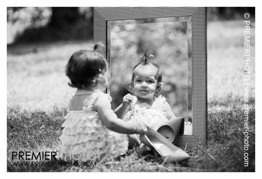 One year old portrait
