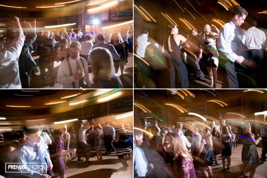 wedding party at Cafe Brauer
