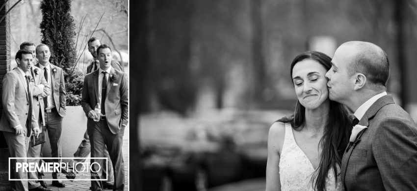Cafe Brauer wedding photography by Premier Photo