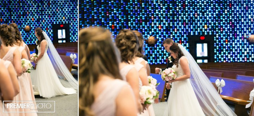 Wedding at Saints Peter and Paul Catholic Church - Cary, IL by Premier Photo