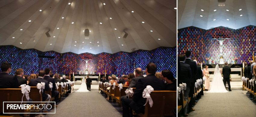 Wedding Ceremony. Saints Peter and Paul Catholic Church - Cary, IL