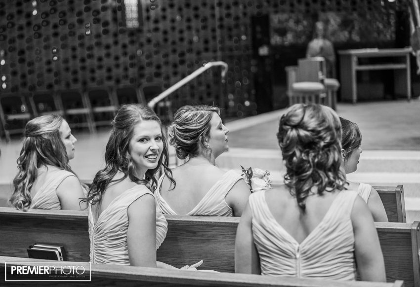 Brides's Maids. Saints Peter and Paul Catholic Church - Cary, IL
