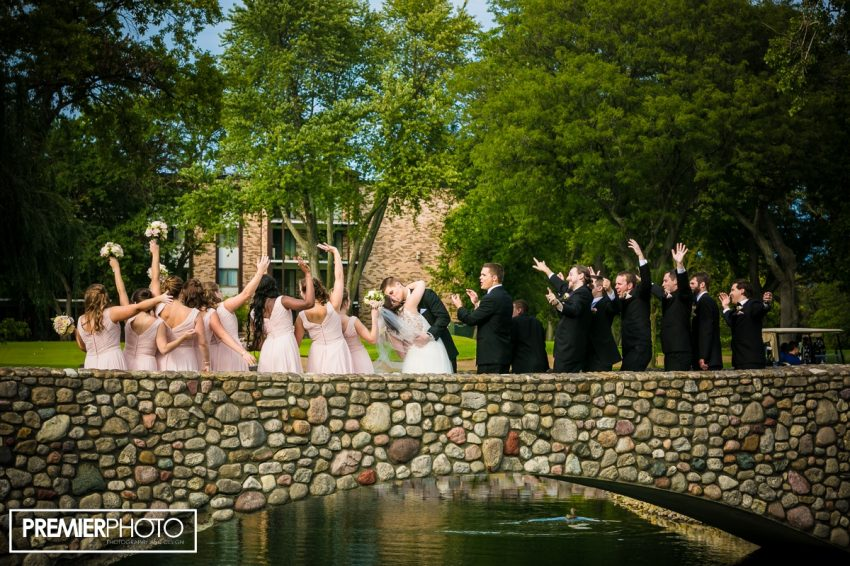 Wedding day on the golf course. Old Orchard Country Club Mt. Prospect Wedding by Premier Photo
