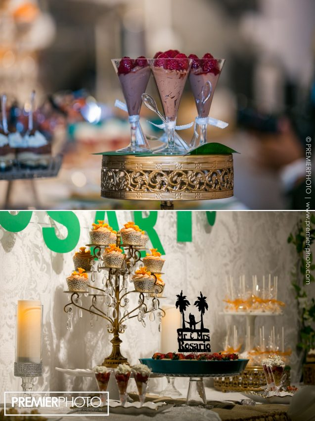 Wedding decor and sweets