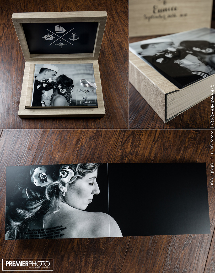 Handmade Italian Wedding Album